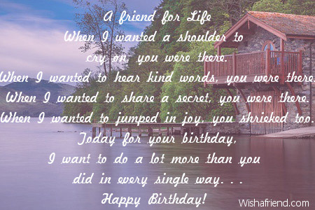 Friends birthday poems 2039 friends birthday poems m4hsunfo