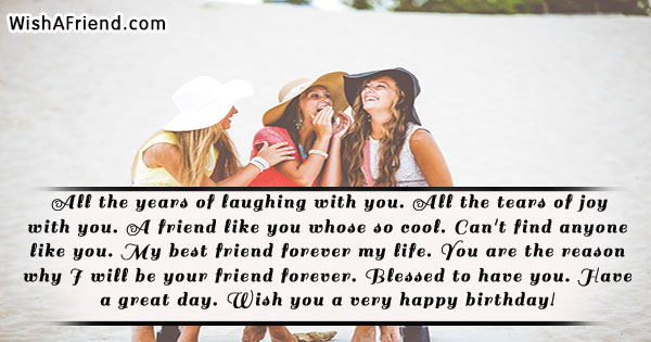 best friend birthday sayings