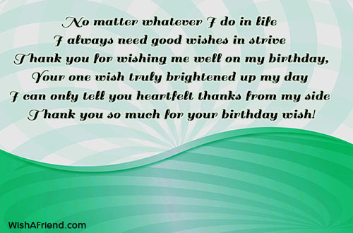 Thank you for the birthday wishes 21299 thank you for the birthday wishes m4hsunfo
