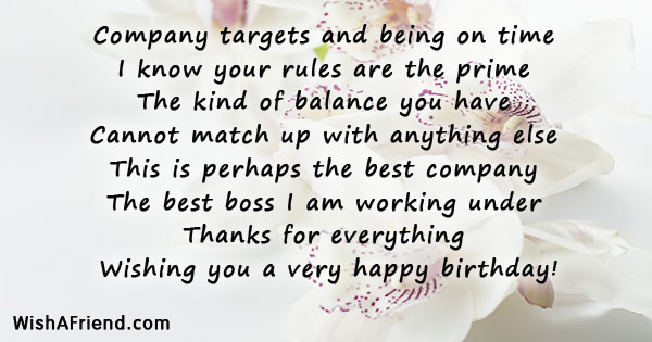 Birthday wishes for boss 21761 boss birthday wishes m4hsunfo