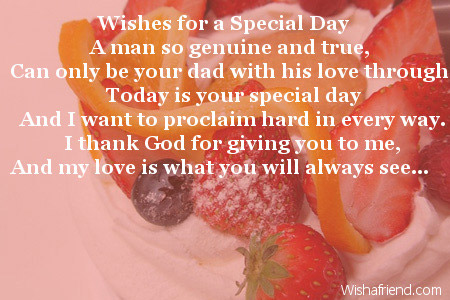 wishes for a special day