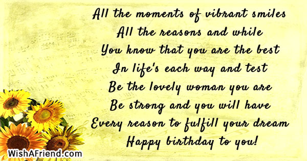 Birthday Quotes For Women Magnificent All The Moments Of Vibrant Smiles Birthday Quote For Women