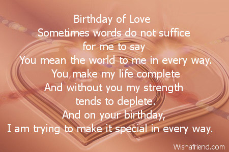 Birthday Of Love