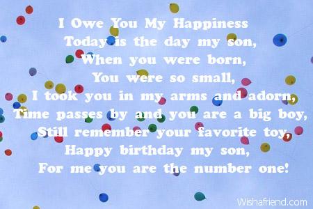 2628 son birthday poems