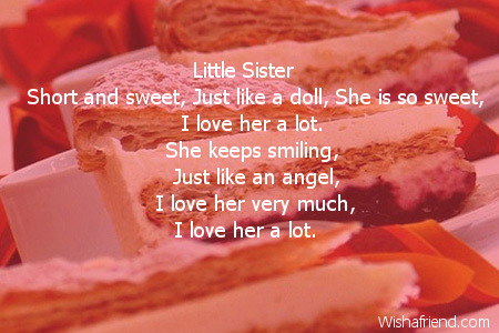 2724 sister birthday poems