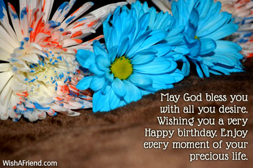 Happy Birthday Wishes Happy Birthday May God Fulfill All Your Wishes