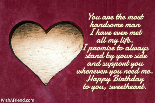 You are the most handsome man birthday wish for husband 385 husband birthday wishes m4hsunfo