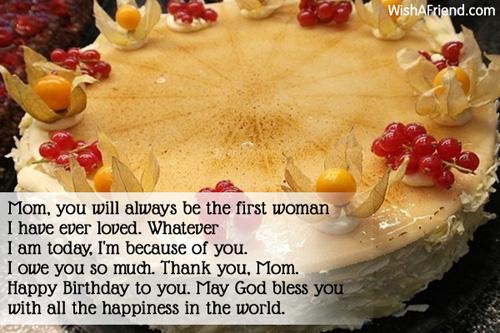 Happy Birthday Mommy ~ Birthday wishes for mom