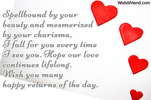 Wife birthday messages m4hsunfo