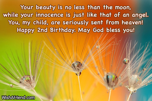 564 2nd birthday wishes