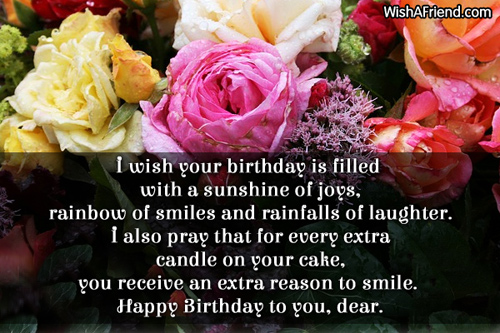 I wish your birthday is filled Best Birthday Wish