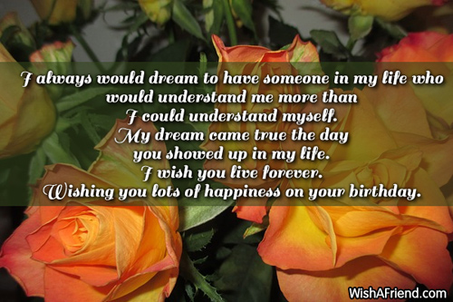 I always would dream to have Best Birthday Wish – Live Birthday Greetings