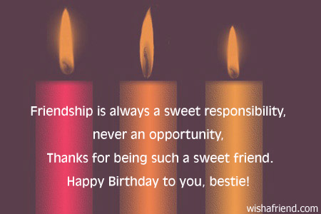 Happy Birthday Quotes Special Friend ~ Best friend birthday quotes