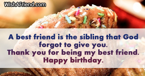 655 best friend birthday sayings