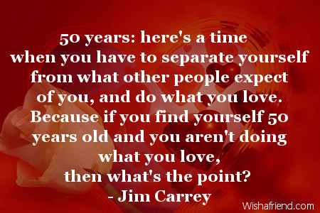 50 Years Heres A Time When 50th Birthday Quote