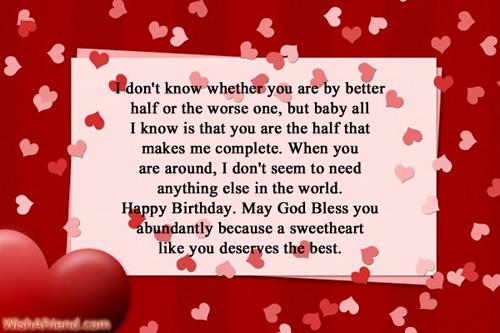 Birthday wishes for boyfriend 699 birthday wishes for boyfriend m4hsunfo