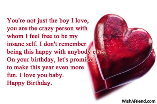 Birthday wishes for boyfriend page 2 for What do i get my bf for his birthday