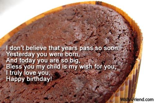 Birthday Wish to My Daughter