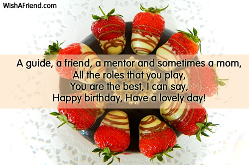 A Guide A Friend A Mentor Birthday Wish For Sister