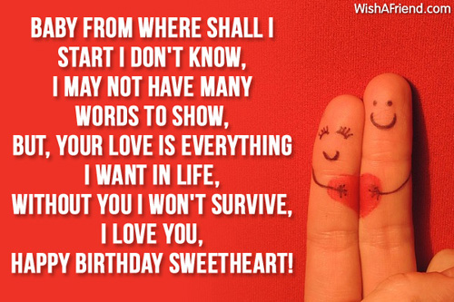 happy birthday essays for girlfriend Show you love for your girlfriend on this birthday with awesome and latest happy birthday sms for girlfriend in hindisend directly to her.