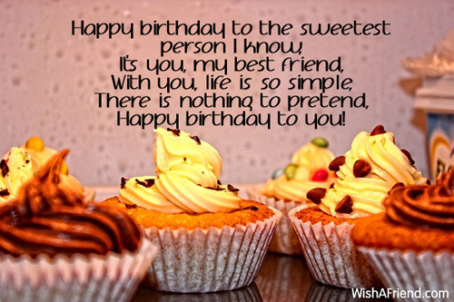 7785 Best Friend Birthday Wishes