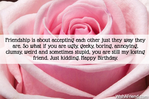 Happy Birthday Message Good Friend ~ Humorous birthday wishes