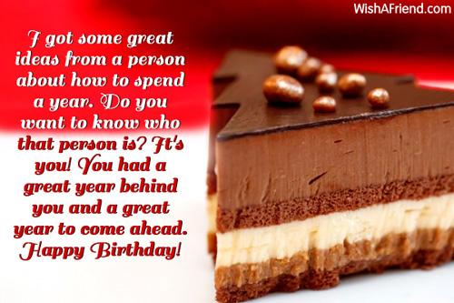 Happy Birthday Wishes Year Ahead ~ I got some great ideas from happy birthday wish