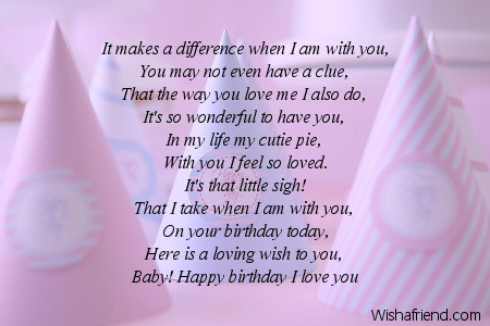 Birthday poem to boyfriend