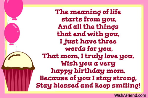Birthday Quotes For Mom Goodreads Best thank you quotes and – Mom Birthday Card Sayings