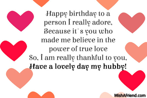 9317 Husband Birthday Wishes
