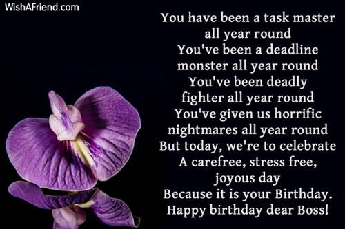 933 Boss Birthday Wishes