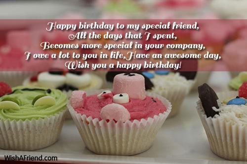 9436 Best Friend Birthday Wishes