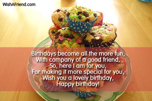 essay for best friends birthday