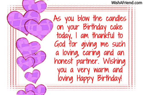 945 wife birthday wishes