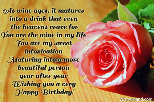 Birthday Wishes For Wife – Wife Birthday Greetings
