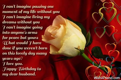 962 Husband Birthday Wishes