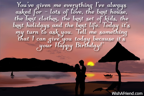 Birthday Wishes For Husband - Page 3