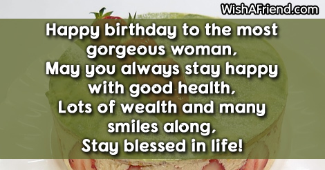 9898 women birthday sayings