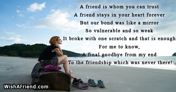 Breakup Messages For Friends