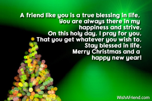 Christmas Messages For Friends.A Friend Like You Is A Christmas Message For Friends