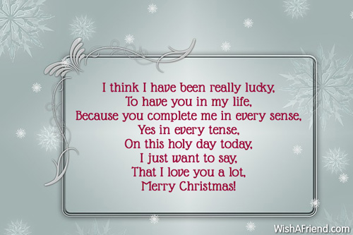 10066 christmas messages for wife - What Does My Wife Want For Christmas