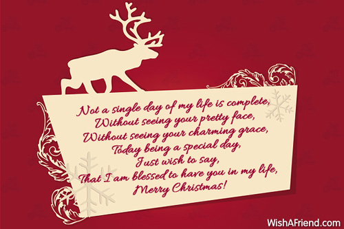 10068 christmas messages for wife