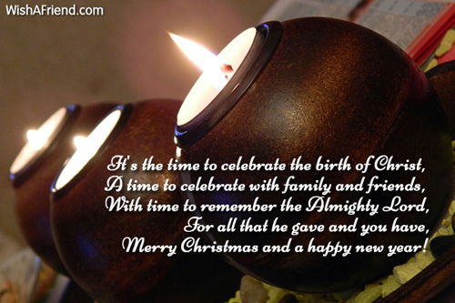 it s the time to celebrate the merry christmas wish