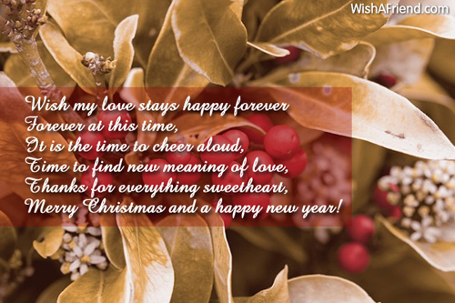 10123 christmas love messages