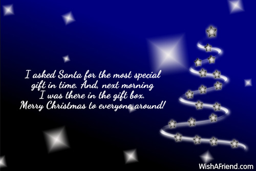 10270 funny christmas sayings - Merry Christmas In Heaven