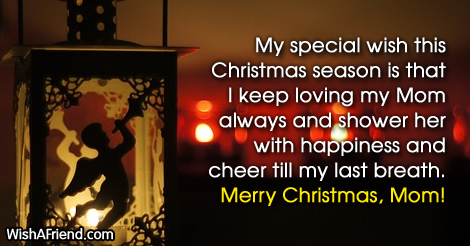 Christmas Message For Mom.My Special Wish This Christmas Season Christmas Messages