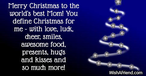 Beau 14931 Christmas Messages For Mom