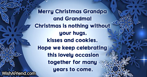 Xmas gifts for grandma and grandpa quotes