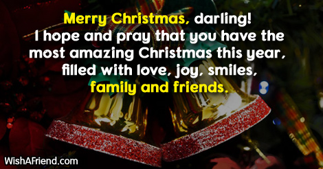 16334 christmas messages for daughter
