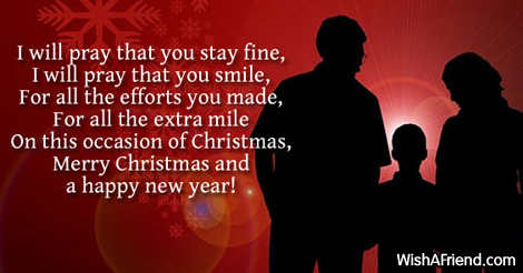16628 christmas messages for parents